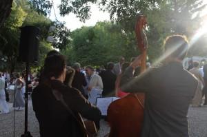 Vin d'honneur Jazz Mariage estoublon